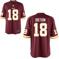 Youth Washington Redskins #18 Josh Doctson Burgundy Game Jersey