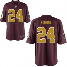 Youth Washington Redskins #24 Josh Norman Red Alternate Game Jersey